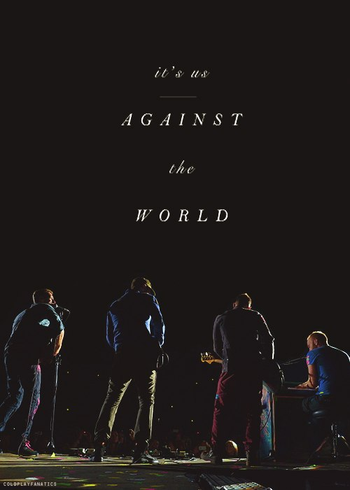 Us Against the World Coldplay
