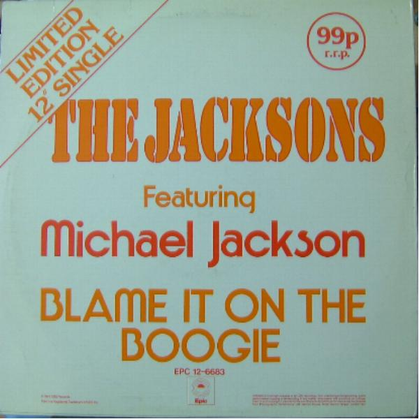 Blame it on the boogie(1978) The Jackson 5