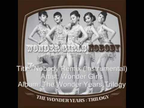 Wonder Girls-Nobody Rainstone Remix (Instrumental)
