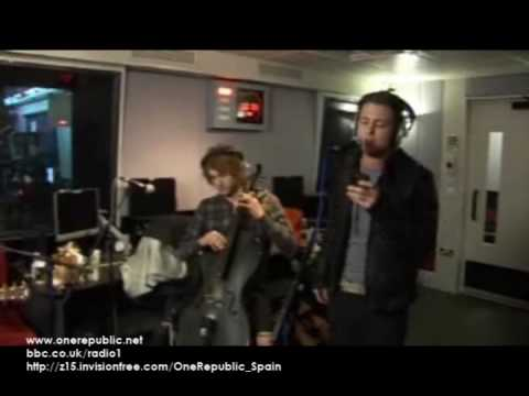 OneRepublic - Mercy (Duffy cover) on Radio 1
