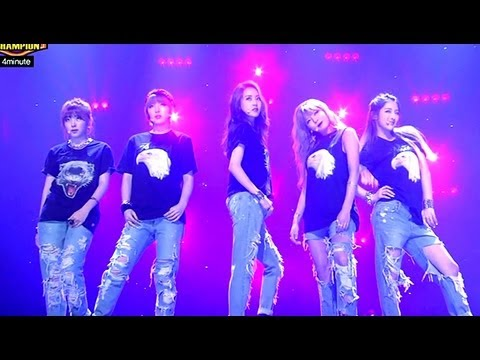 4minute - WHATEVER, 포미닛 - 왓에버, Show champion 20130501