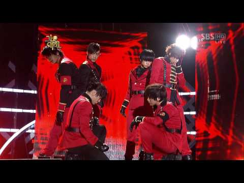 [HD] 2PM - Again & Again (Remix Ver.) Gayo Fest (Dec 29, 2009)