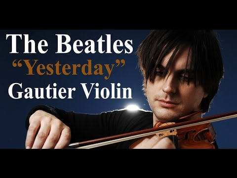 The Beatles ''Yesterday'' Violin Cover - Marc-Andre Gautier (Violin Song)