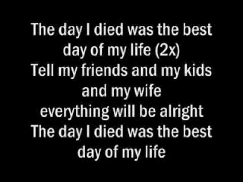 Just Jack - The Day I Died Lyrics