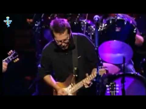 Clapton - Knopfler - Collins - Same Old Blues  / Remastered to Widescreen / Live with LyRiCs
