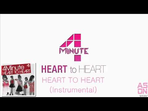 4MINUTE - HEART TO HEART (Instrumental).