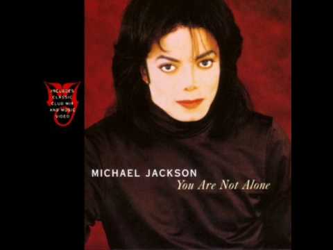 Michael Jackson - You Are Not Alone (jon b. main mix)