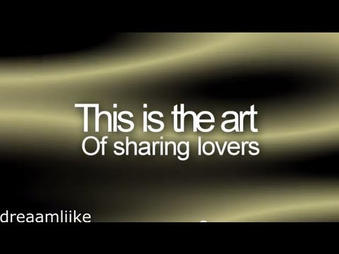 A Static Lullaby - The art of sharing lovers (lyrics) ♥
