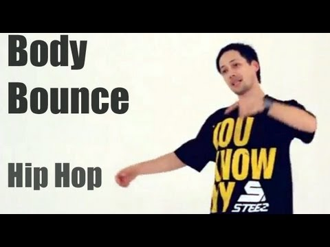 Обучение хип-хоп (hip hop dance tutorial). Body Bounce (самоучитель)