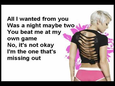 Pink - Heartbreak down +lyrics