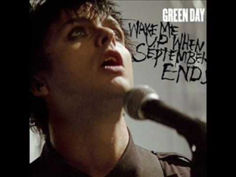 Green Day - wake me up when september ends instrumental acoustic