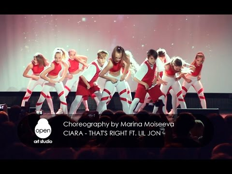 Ciara - That's Right ft Lil Jon сhoreography by Marina Moiseeva - Open Art Studio